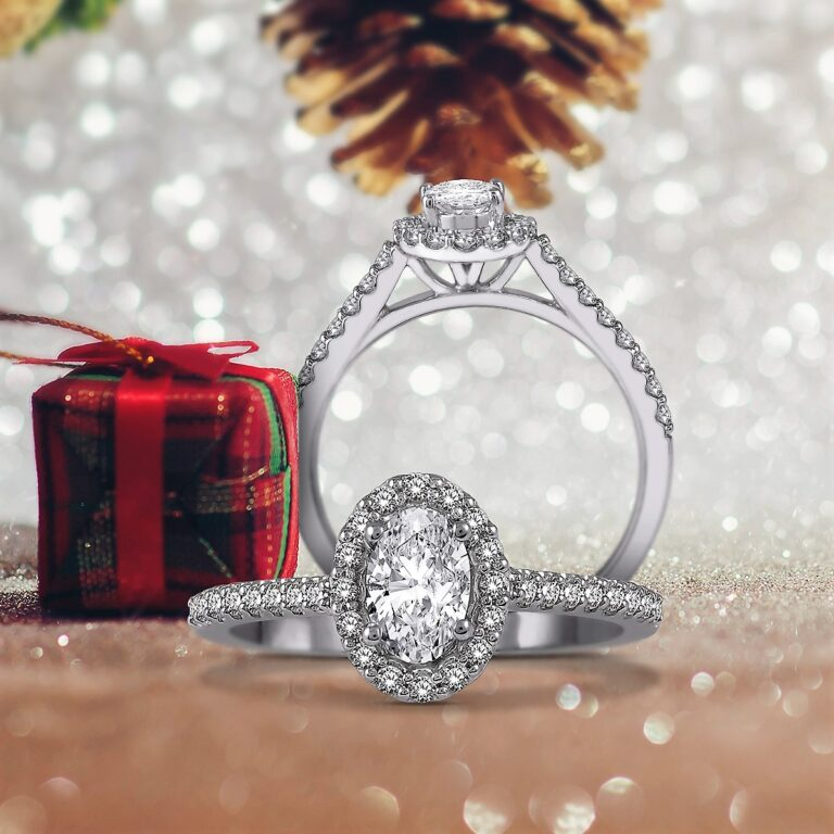 the best oval diamond engagement rings in Dallas